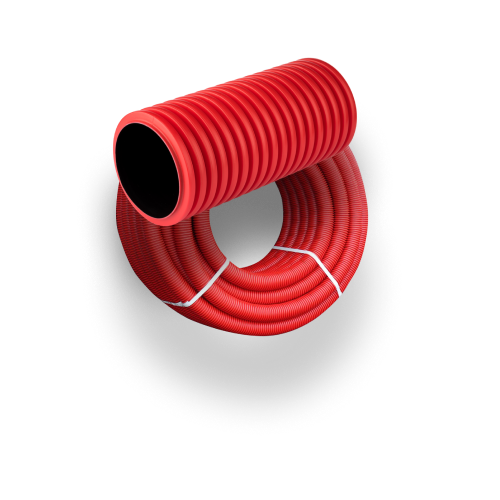 Труба гофрированная двустеннная ПНД/ПВД SN8
